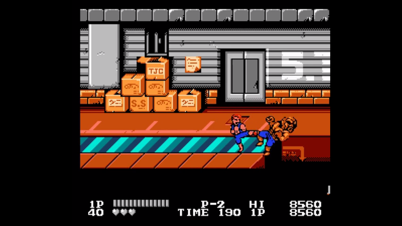Double Dragon Nes Review Games That I Play